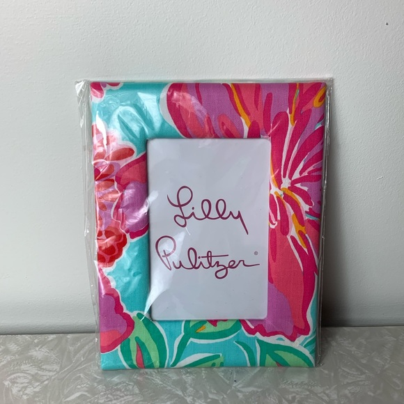 Lilly Pulitzer Picture Frame Shorely Blue Bellina